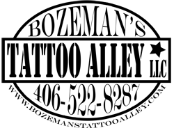 Bozeman's Tattoo Alley, L.L.C. Logo