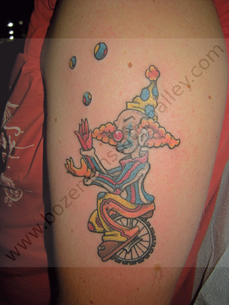 Freehand-clown